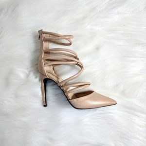 Nasty Gal Strappy Stiletto